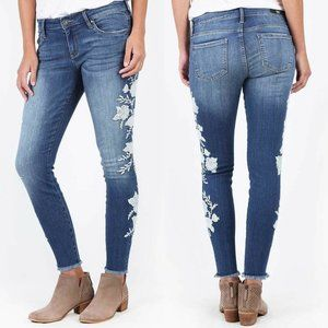 Kut From The Kloth Jeans Connie Ankle Skinny Raw